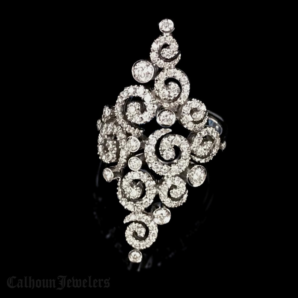 Stefan Hafner Astrakhan Diamond Ring