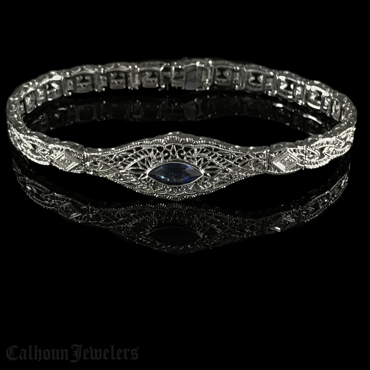 Edwardian Filigree Bracelet